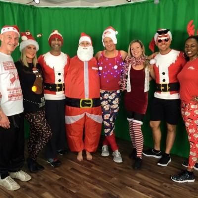 Big Centre TV christmas group shot
